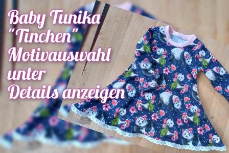 Tunika Tinchen langarm Gr. 56-92 Stoffauswahl unter Details