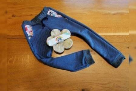 Cool Pants Gr. 86-134 Mädchen UNI Taschen bunt Stoffauswahl unter Details