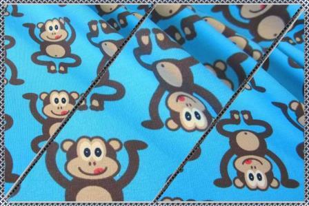 Alles rund um den Kopf Affen blau