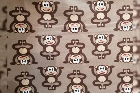 Alles rund um den Kopf Affen braun