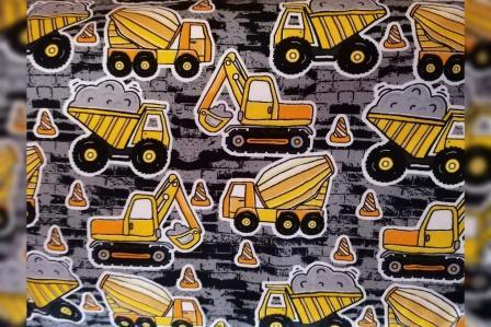 Alles rund um den Kopf Baufahrzeuge gelb