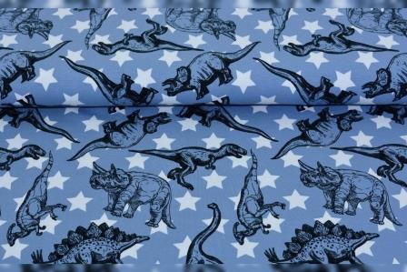 Alles rund um den Kopf Dino blau