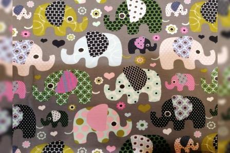 Alles für den Kopf Baby Elefanten rosa