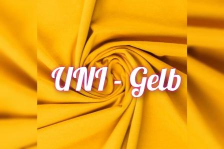 Alles für den Kopf UNI gelb