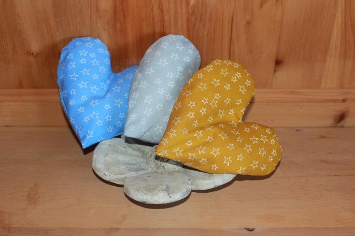 Dinkel & Lavendel, Kirschkern Kissen Sterne